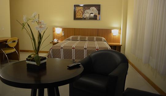 Quarto Executivo Barbur Center Hotel Em Ponta Grossa
