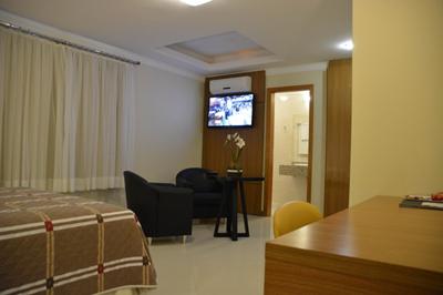 Quarto Luxo Barbur Center Hotel Em Ponta Grossa